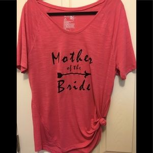 A Mother Of The Bride T-Shirt